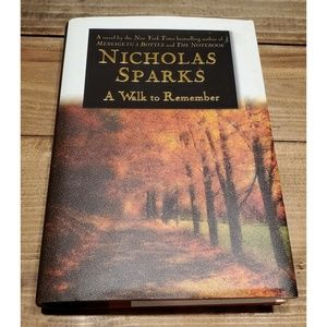 Other - A Walk to Remember 1st Edition Nicholas Sparks Hb
